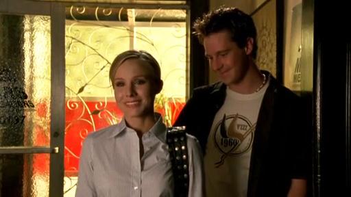 Kristen Bell and Jason Dohring in Veronica Mars (2004)