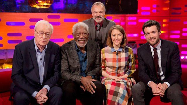 """دانلود زیرنویس فارسی فیلم """"The Graham Norton Show"""" Michael Caine/Morgan Freeman/Jack Whitehall/Gemma Whelan/Take That"""