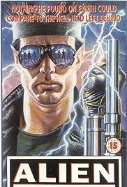 Alien Private Eye (1987) starring Nicholas Hill on DVD on DVD