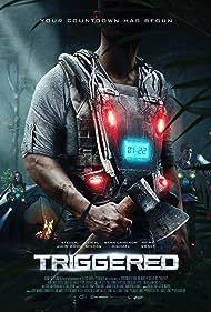 Kayla Privett, Steven John Ward, and Liesl Ahlers in Triggered (2020)