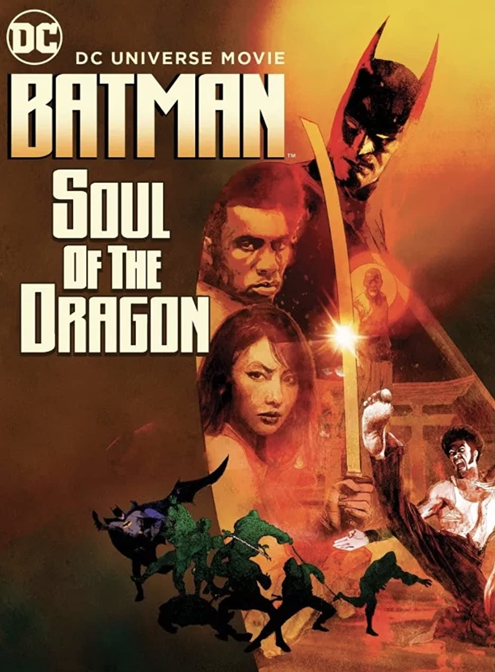 Batman Soul of the Dragon 2021 English 720p HDRip 800MB Download