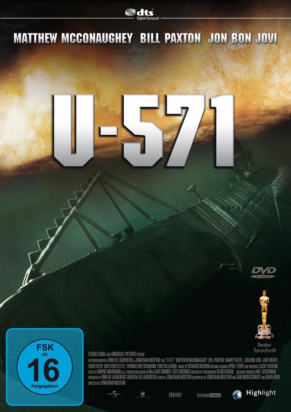 U-571 (2000) Hindi Dubbed