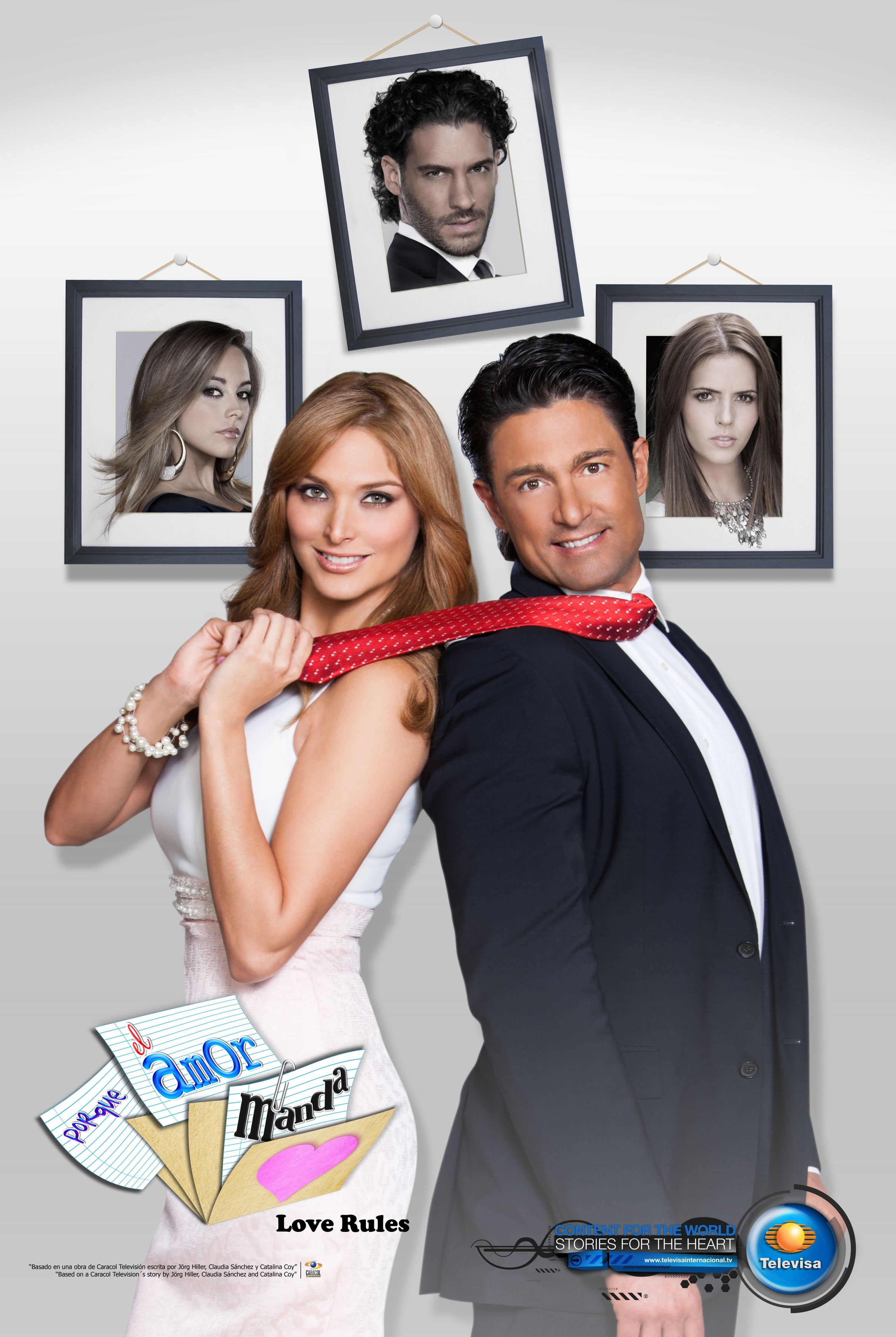 Image result for porque el amor manda poster