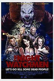 Ken Arnold, Dan De Luca, Kevin Jiggetts, Kara Luiz, and Max Gray Wilbur in The Night Watchmen (2017)