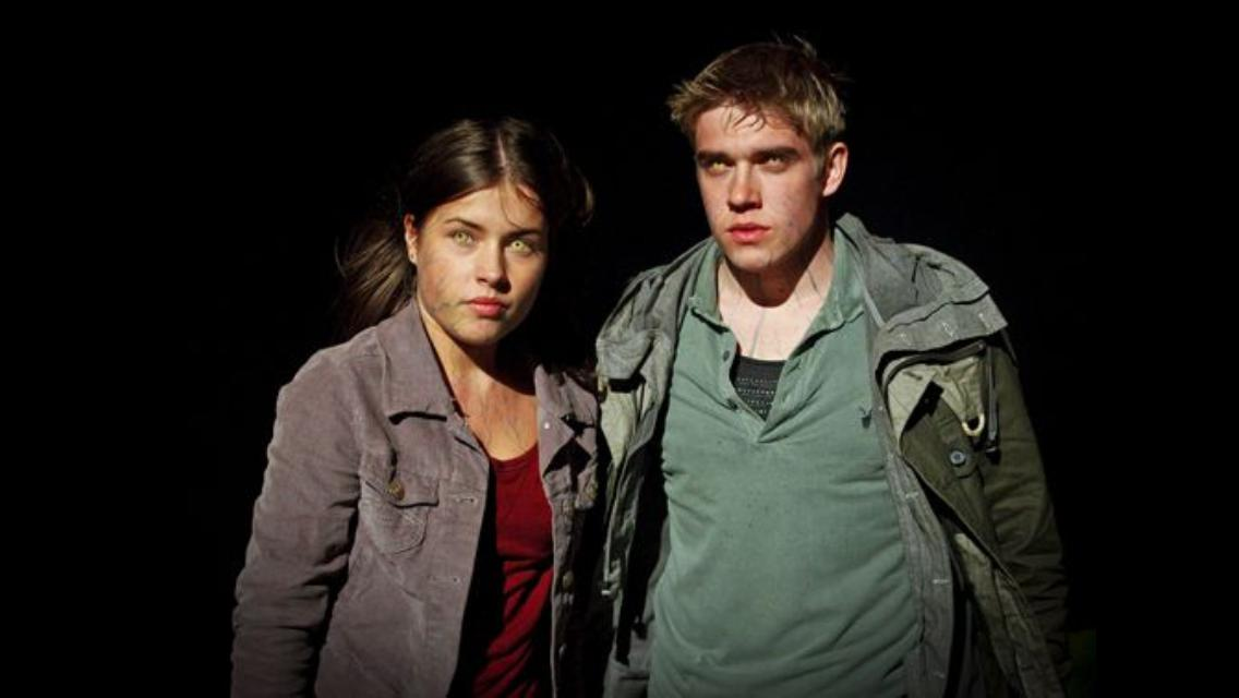 Bobby Lockwood and Aimée Kelly in Wolfblood (2012)