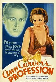 Ann Carver's Profession Poster