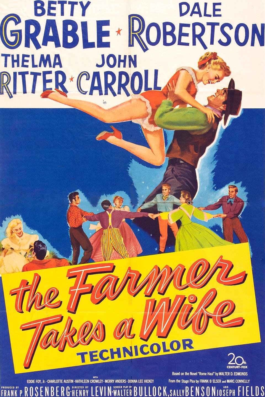The Farmer Takes a Wife (1953) - IMDb