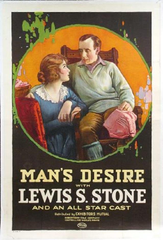 Man's Desire (1919)