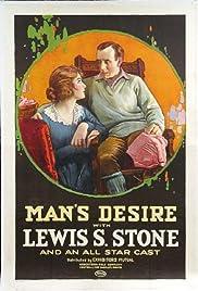 Man's Desire Poster