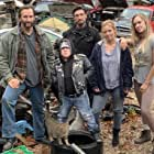 Martin Klebba, Kevin Sizemore, John Wells, Jessie Bell, and Kelly Bartram in The Dark: The Great Deceiver (2020)