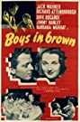 Boys in Brown (1949) Poster
