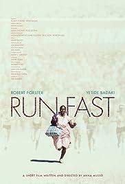 Run Fast Poster