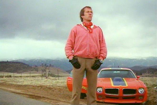 David Carradine in Cannonball (1976)