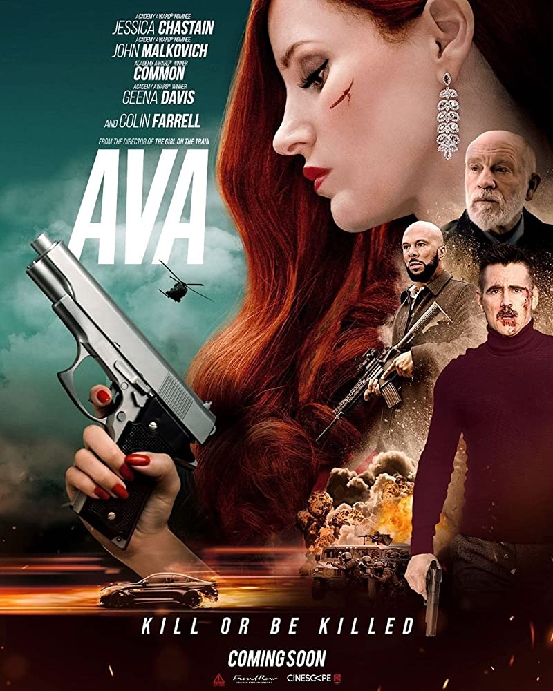 Ava 2020 English 720p HDCAM 845MB | 300MB Download
