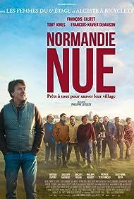 François Cluzet and François-Xavier Demaison in Normandie nue (2018)