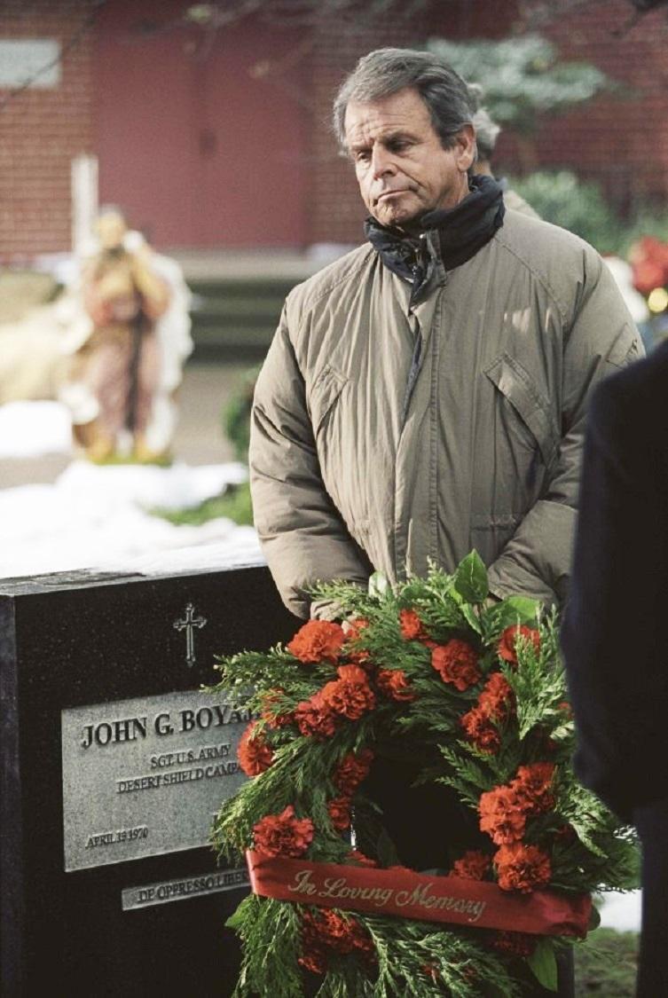 William Devane in A Christmas Visitor (2002)