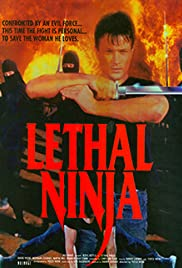 Lethal Ninja (1992) starring Ross Kettle on DVD on DVD