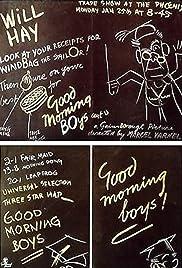 Good Morning, Boys!(1937) Poster - Movie Forum, Cast, Reviews