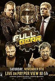 All Elite Wrestling: Full Gear Poster