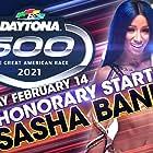 Sasha Banks in NASCAR on Fox (2001)