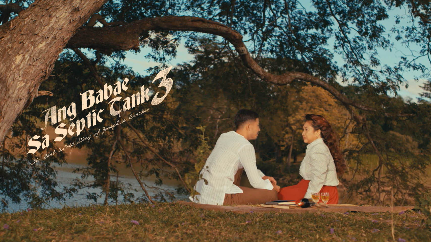 Eugene Domingo and Tony Labrusca in Ang babae sa septic tank 3: The Real Untold Story of Josephine Bracken (2019)
