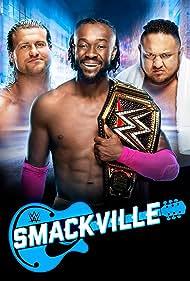 Nic Nemeth, Joe Seanoa, and Kofi Kingston in WWE Smackville (2019)