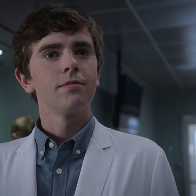 Freddie Highmore and Dylan Kingwell in The Good Doctor (2017)