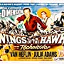 Van Heflin, Julie Adams, and Abbe Lane in Wings of the Hawk (1953)