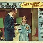 Debbie Reynolds and Curd Jürgens in This Happy Feeling (1958)