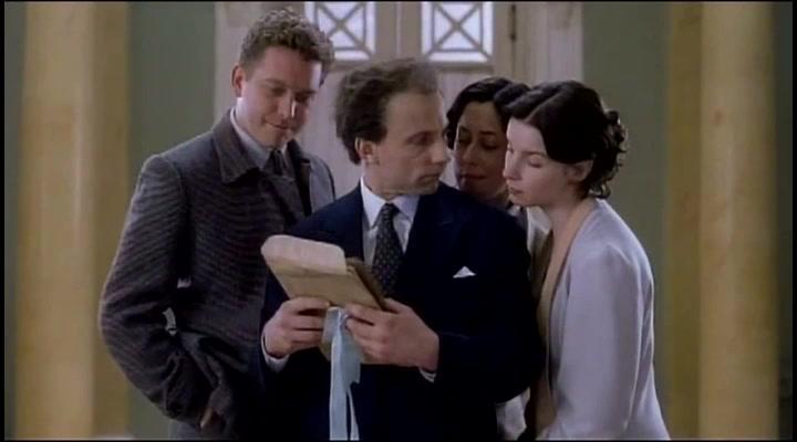 Simon McBurney and Jacqueline McKenzie in Eisenstein (2000)