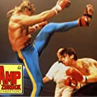 Matthias Hues, Gene LeBell, and Sasha Mitchell in Kickboxer 2: The Road Back (1991)
