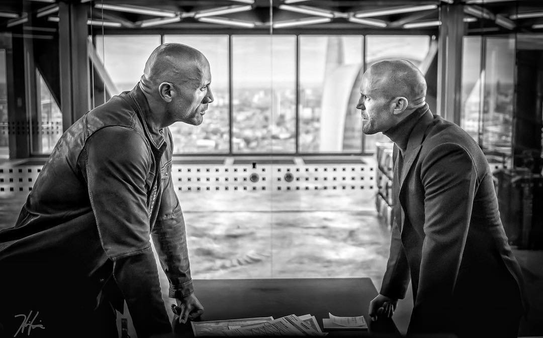 Image result for hobbs and shaw poster