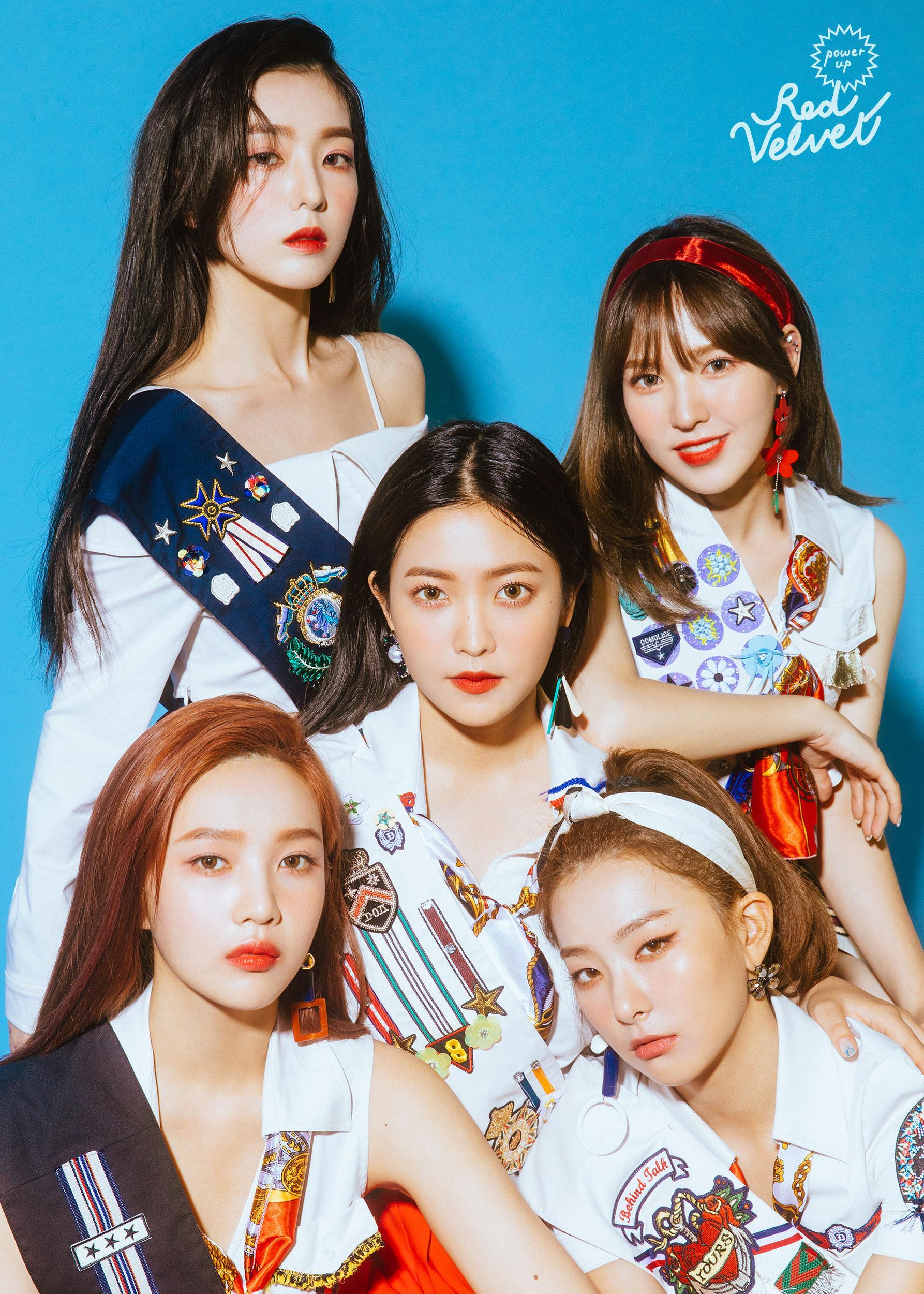 The natural beauty of Red Velvet