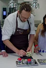 Fred Sirieix and Nisha Katona in Remarkable Places to Eat (2019)