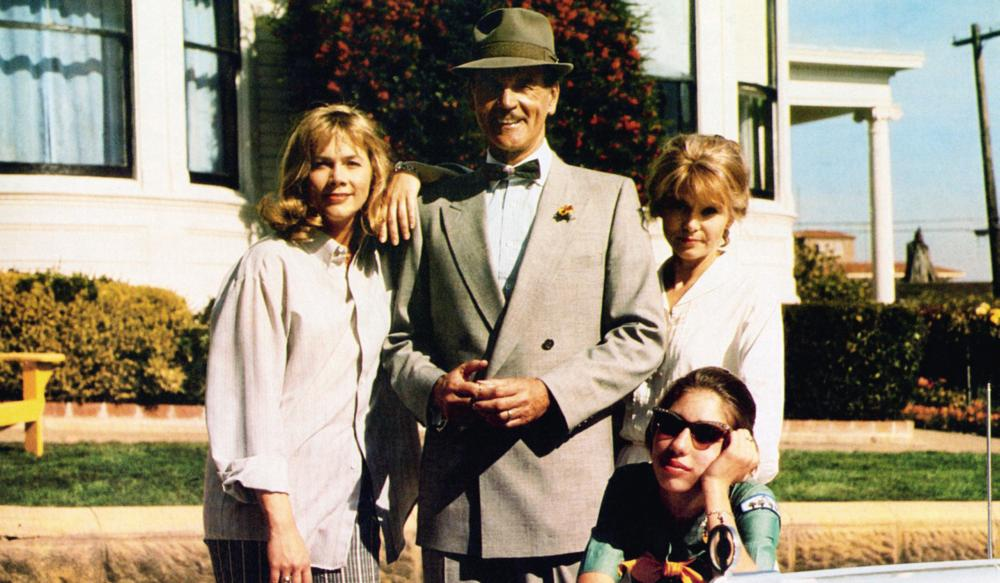 Kathleen Turner, Sofia Coppola, Barbara Harris, and Don Murray in Peggy Sue Got Married (1986)