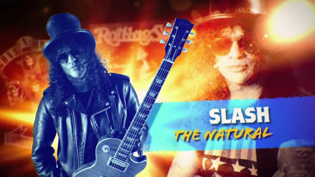 Slash in Rock Icons (2015)