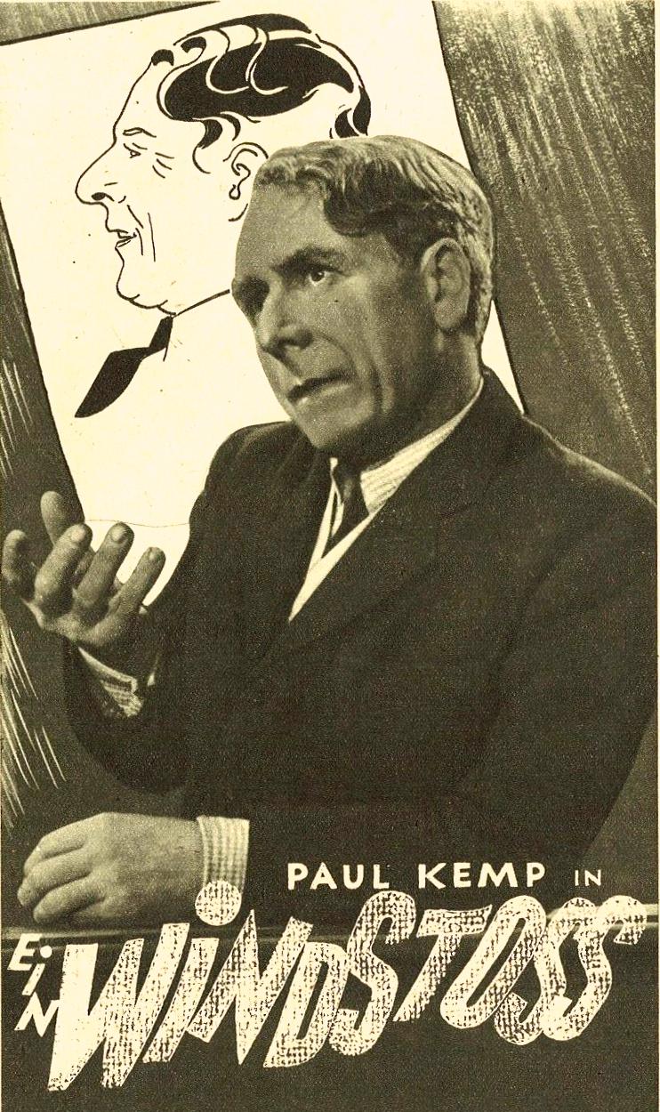 Paul Kemp in Ein Windstoß (1942)