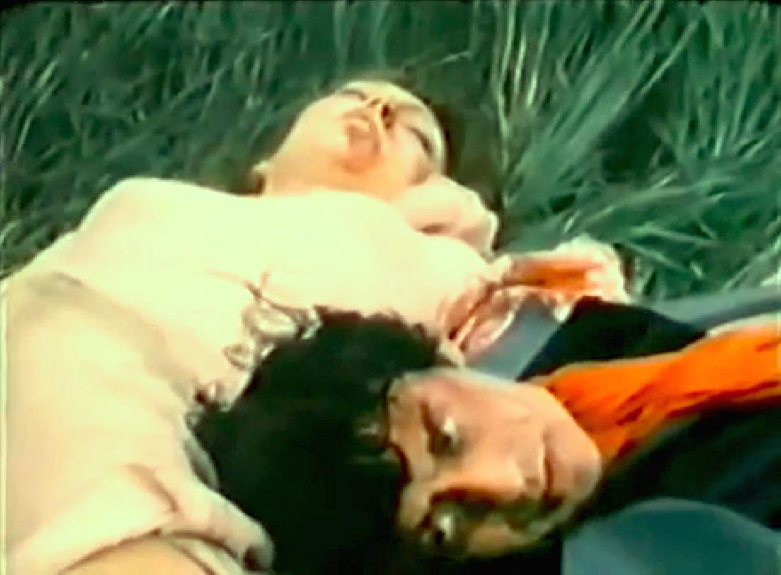 Carmelo Bene and Anne Wiazemsky in Capricci (1969)