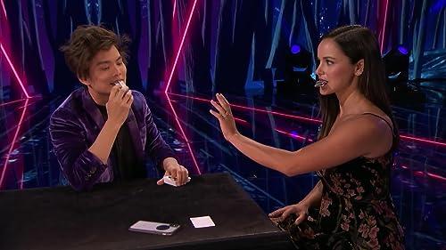 America's Got Talent: The Champions: Shin Lim Performs Epic Magic With Melissa Fumero