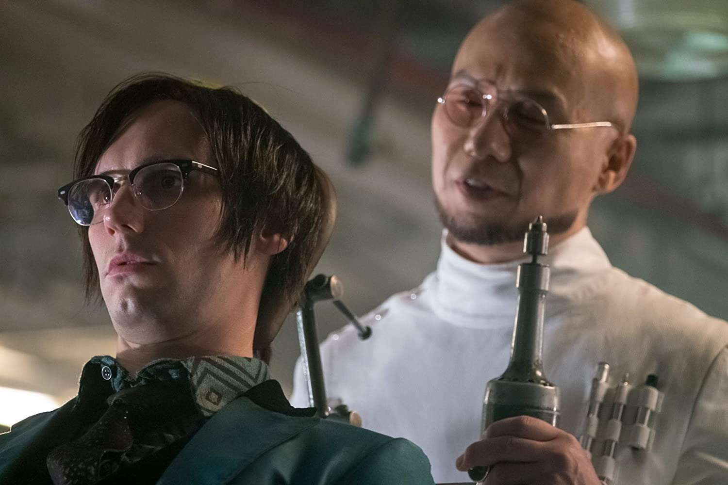 BD Wong and Cory Michael Smith in Gotham (2014)