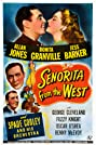 Senorita from the West (1945) Poster