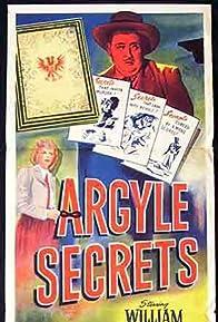 Primary photo for The Argyle Secrets