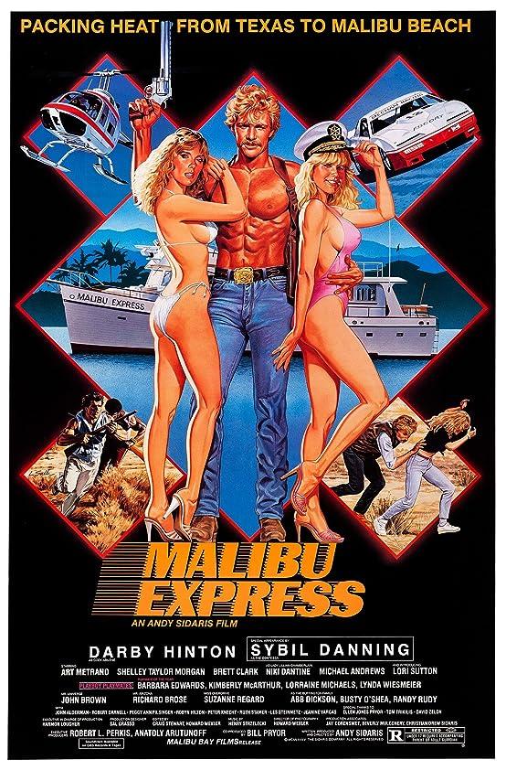 Malibu Express (1985) Hindi Dubbed