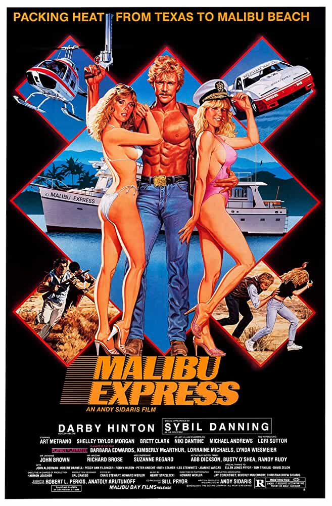 18+ Malibu Express (1985) 720p BluRay Dual Audio Hindi + Eng