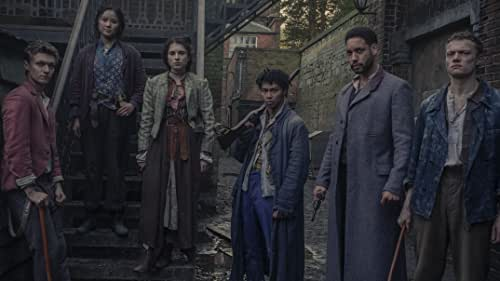 Meet The Irregulars: Bea, Jessie, Billy, Spike and Leo. Join this ragtag gang as they uncover the demonic and mysterious depths of Victorian London alongside the sinister Dr Watson and his enigmatic business partner, Sherlock Holmes.  The Irregulars, only on Netflix March 26.