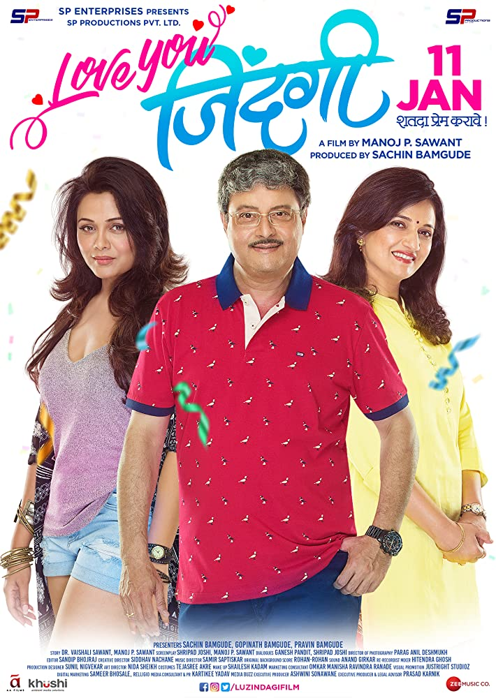 Love You Zindagi (2019) Marathi 720p HDRip x265 AAC