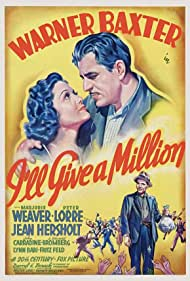 Warner Baxter and Marjorie Weaver in I'll Give a Million (1938)