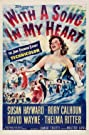 With a Song in My Heart (1952) Poster