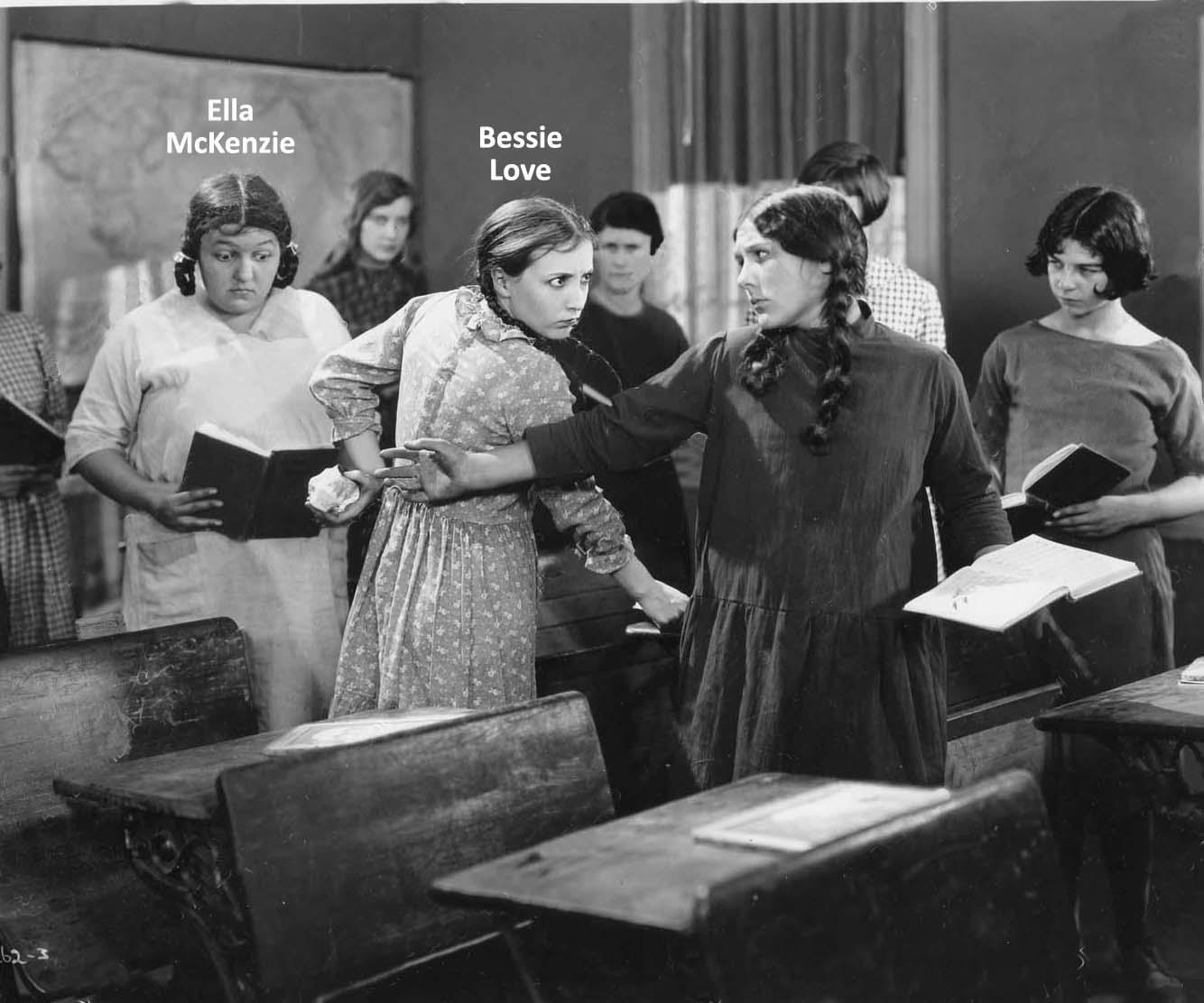 Bessie Love and Ella McKenzie in Lovey Mary (1926)