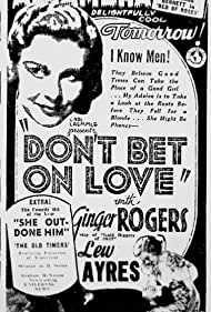 Ginger Rogers in Don't Bet on Love (1933)